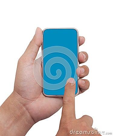 Touching on Smart phone