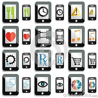 Touchscreen icons