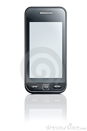 Touchscreen phone