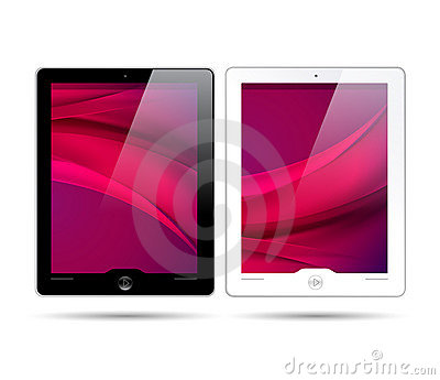 Touchscreen tablets - vector is available too!