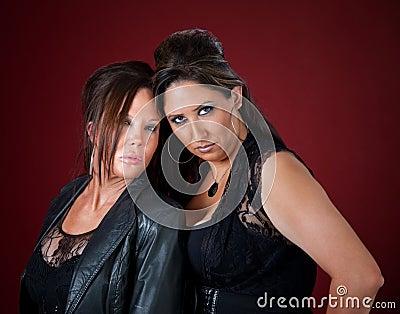 Tough and beautiful New Jersey style women