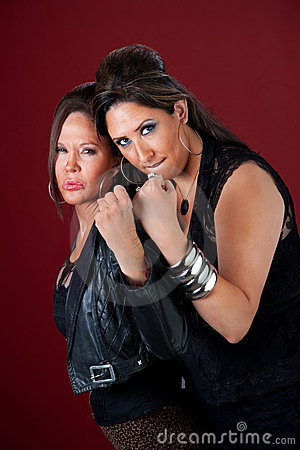 Tough and beautiful women