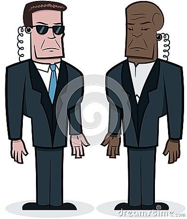 Tough Bodyguards