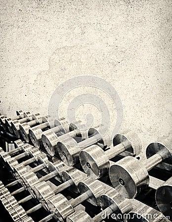 Tough Grunge Weight Training