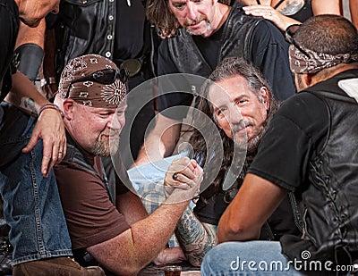 Tough Men Arm Wrestling