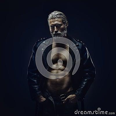 Free Tough Middle Aged Man Stock Image - 47602001