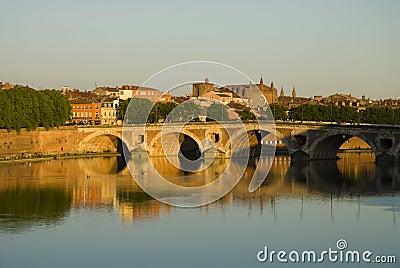 Toulouse cityscape
