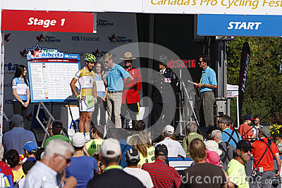 2013 Tour of Alberta Editorial Photo
