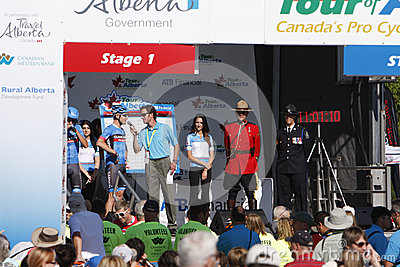 2013 Tour of Alberta Editorial Photography