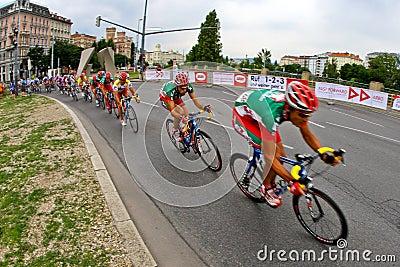 Tour of Austria 2008 Editorial Stock Image