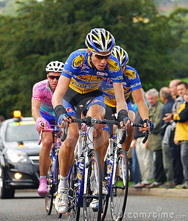 Tour of Britain Cycle Race - Day 4 Editorial Stock Image