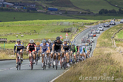 Tour of Britain Stage 2 Editorial Stock Image
