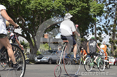 Tour De Fat Crazy 2012 Editorial Image