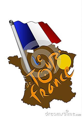Free TOUR DE FRANCE Royalty Free Stock Photo - 15144815