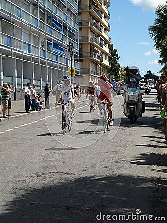 Tour de France 2008 start of P Editorial Stock Image