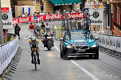 Tour de France 2009 Monaco Editorial Stock Photo