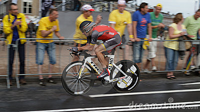 Tour de France 2010 Editorial Stock Photo