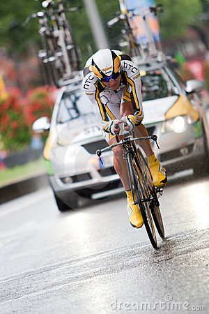 Tour de France 2010. Prologue Editorial Stock Photo