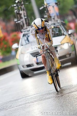 Tour de France 2010. Prologue Editorial Stock Photo