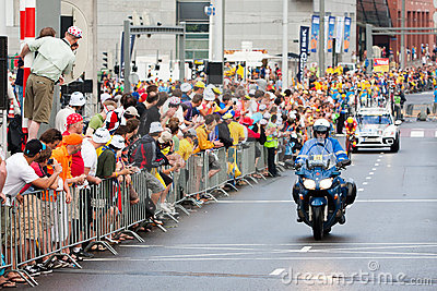 Tour de France 2010. Prologue Editorial Stock Image