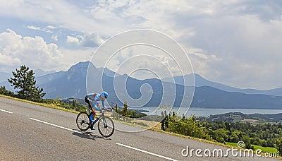 Tour de France Landscape Editorial Stock Photo