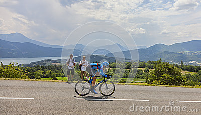 Tour de France Landscape Editorial Image