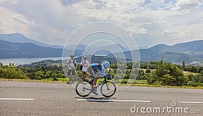 Tour de France Landscape Editorial Image