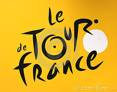 Tour de France logo Editorial Image