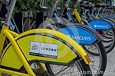 Tour de France, London Editorial Photography