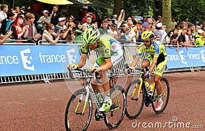 Tour de France in London, UK Editorial Stock Image