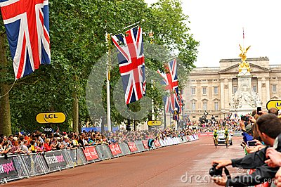 Tour de France in London, UK Editorial Stock Photo