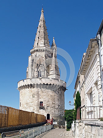 Tour de la Lanterne in la Rochelle, France