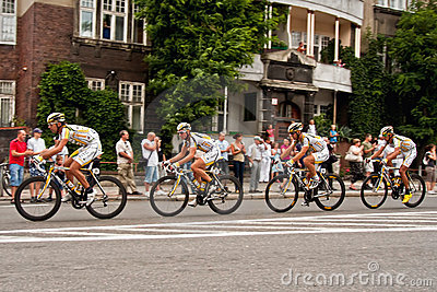 Tour de Pologne 2010 Editorial Stock Photo