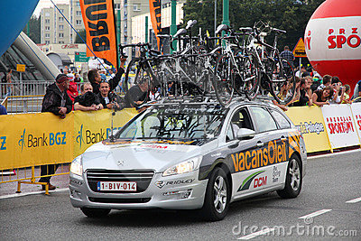 Tour de Pologne 2011 Editorial Photo