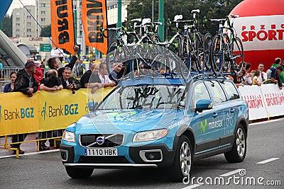 Tour de Pologne Editorial Stock Image