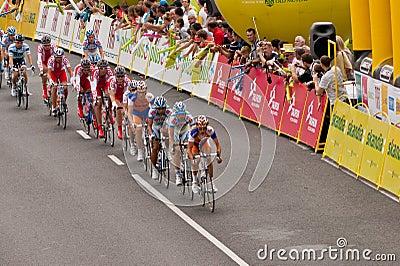 Tour de Pologne Peleton head Editorial Photo