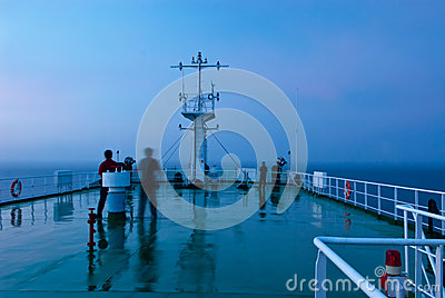 Tour de signal de bateau