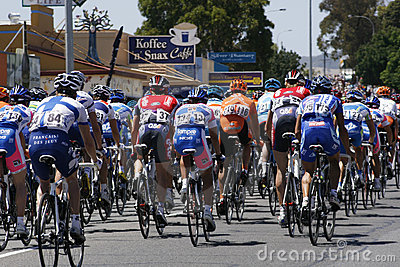 Tour Down Under Editorial Stock Image