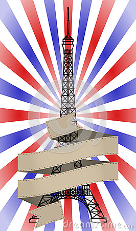 Tour eiffel ribbon