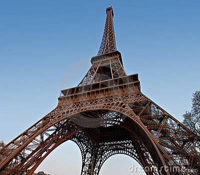 Tour Eiffel - Wide Angle