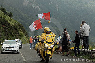 Tour of France- official bike Editorial Stock Photo