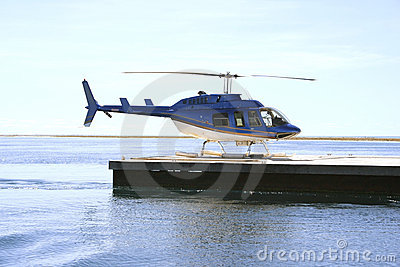 Tour helicopter, Great Barrier Reef