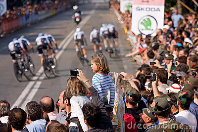 Tour of Italy Editorial Stock Image