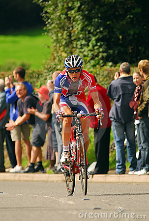 Free Tour Of Britain Cycle Race - Day 4 Royalty Free Stock Photography - 6351297