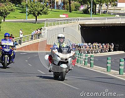 Tour of Spain 2011 Editorial Stock Photo