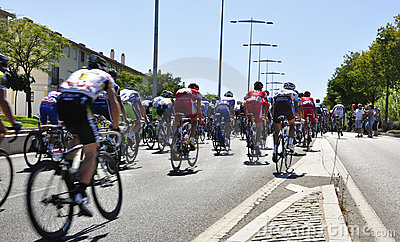 Tour of Spain 2011 Editorial Stock Image