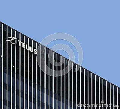 Tour Telus Editorial Stock Photo