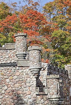 Tourelles de château