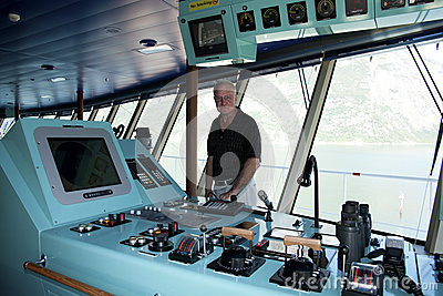 Touring the Navigation Deck