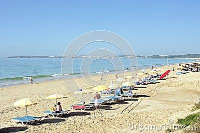 Tourism in the Algarve in Portugal